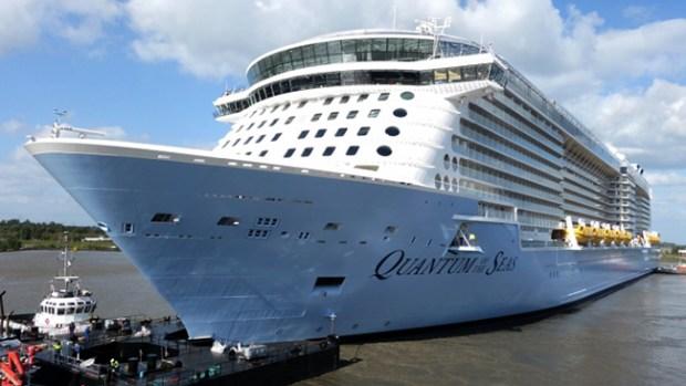 """Video: """"Quantum of the Seas"""", gigante del mar"""