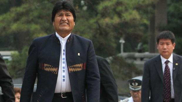 Video: Evo Morales dice que fue agredido