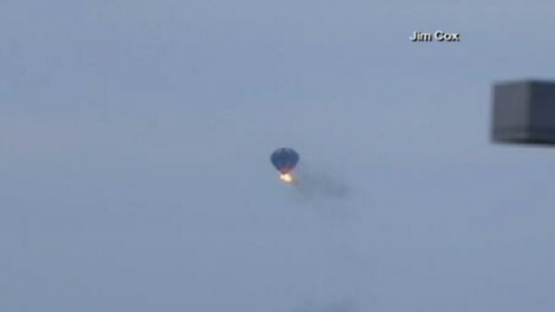 Video: 2 muertos tras chocar globo aerostático