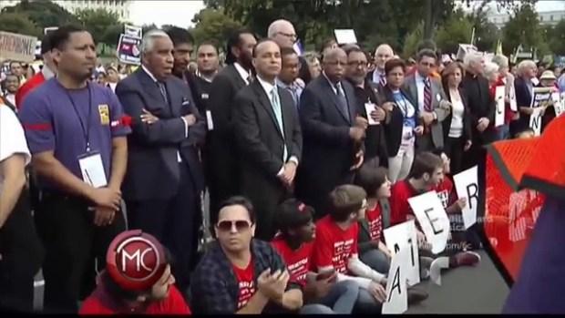 Video: Liberan a congresistas arrestados