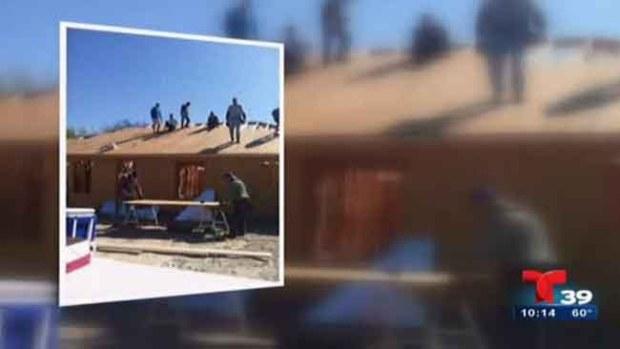 Video: Ángel guardián ayuda a familia hispana