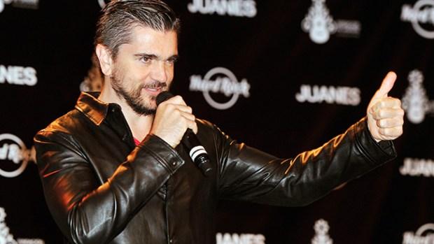 Video: Juanes y Hard Rock en benéfica unión