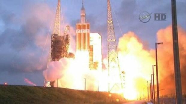 Video: NASA lanza nave Orion, inicia nueva era