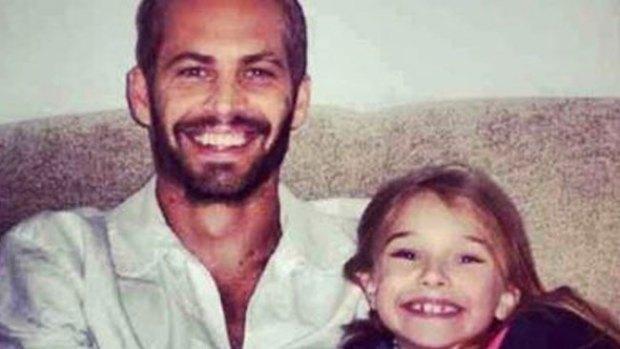 Video: Falso adiós de Meadow Walker a su padre