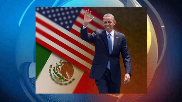 Video: Obama tiene a México en su agenda