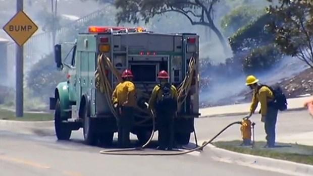 Video: Amenaza viva por llamas y vientos
