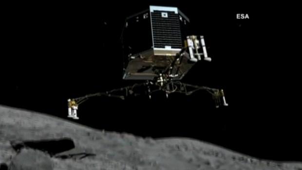 Video: Robot inicia descenso en cometa 67P