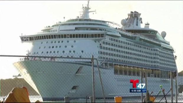 Video: Crucero arriba con ola de enfermos