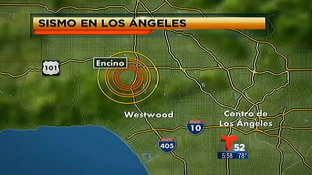 Video: Regresa la calma tras fuerte sismo en L.A.