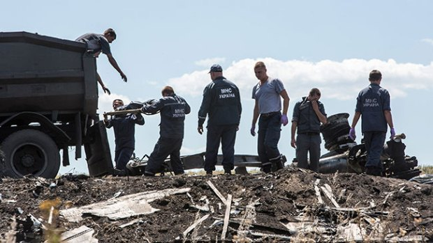 Video: MH17: Inicia transporte de cadáveres