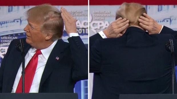 [TLMD - MIA] Trump habla sobre lo que esconde bajo su cabello