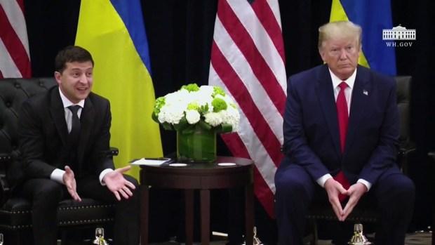 [TLMD - LV] Zelenski niega haber presionado a alguien por instrucción de Trump