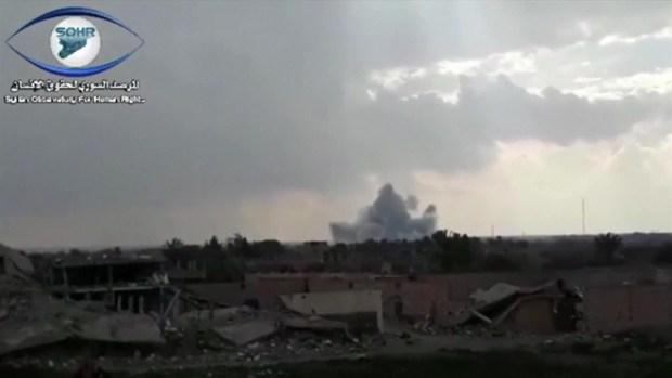 [TLMD - LV] Fuerzas lideradas por EEUU atacan a ISIS