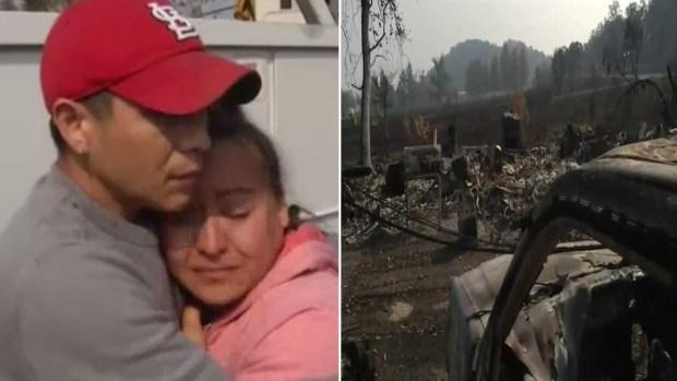 Desgarrador testimonio de familia hispana que lo perdió todo en los incendios