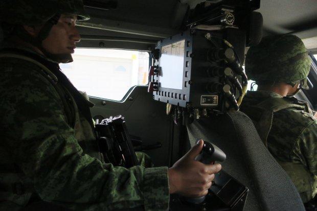 Así es como los militares recorren las calles de Reynosa
