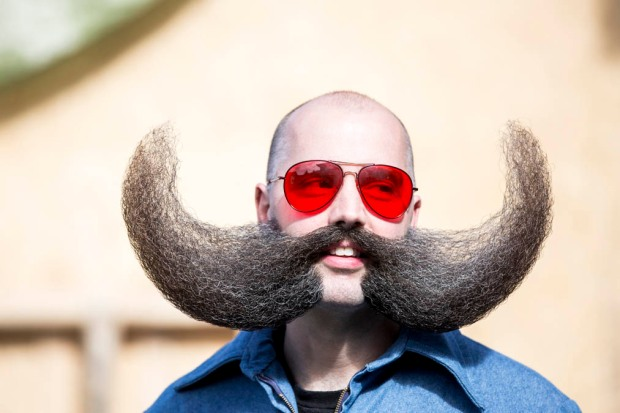 "Fotos: los más ""fashion"" barbudos y bigotudos"