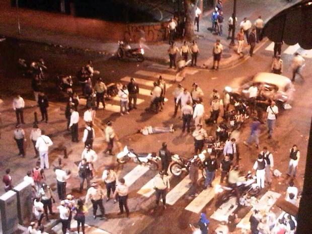 Fotos: marchas se tornan violentas en Venezuela