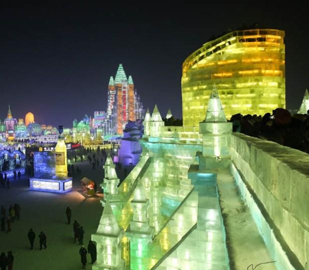 Conoce la espectacular ciudad hecha de hielo