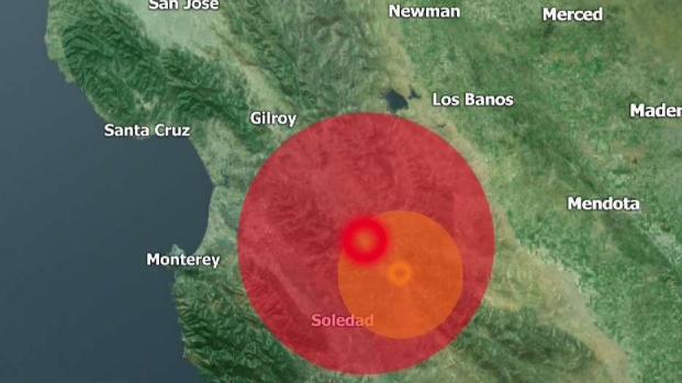 [TLMD - Bahia] Sismo de 4.8 sacude al centro de California