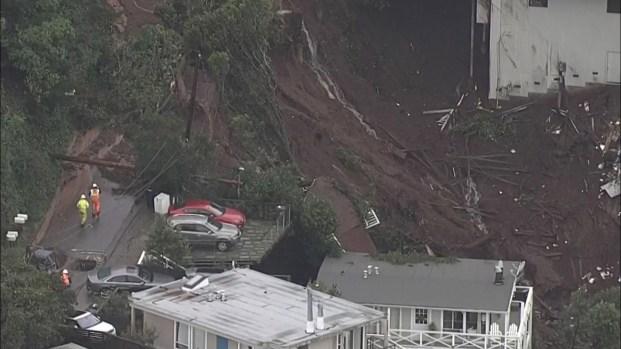 [TLMD - NATL] Desde el aire: así queda zona al norte de California tras deslaves