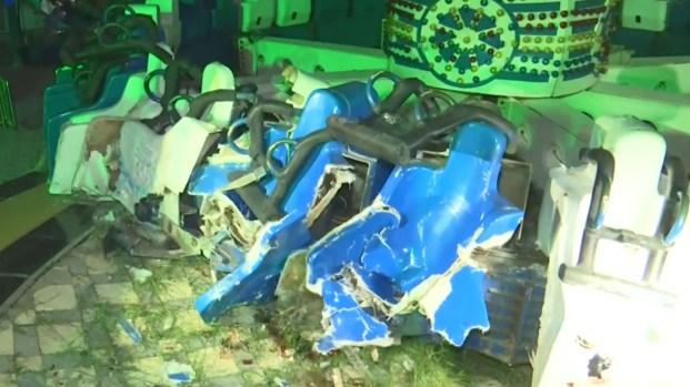 [TLMD - NATL] Tragedia en parque de atracciones: dos jóvenes mueren al instante
