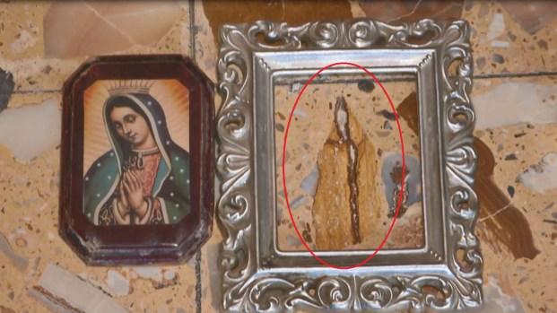 Aseguran que la Virgen apareció en el piso de su casa
