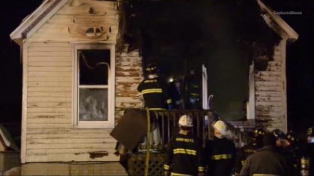 Video: Mueren tres niños en un incendio