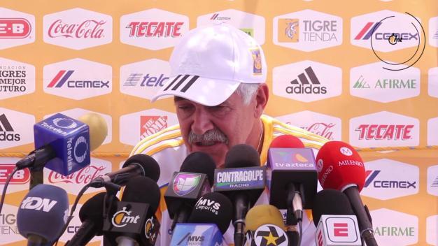 """""""Tuca"""" Ferreti desea que Rafa Márquez juegue su quinto Mundial"""