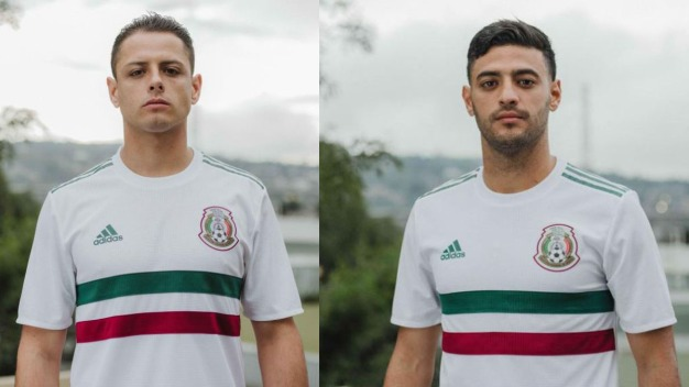 """El """"Tri"""" presentó su playera alternativa para la Copa Mundial"""