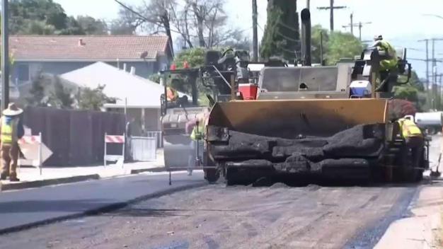Plan para repavimentar calles en San José