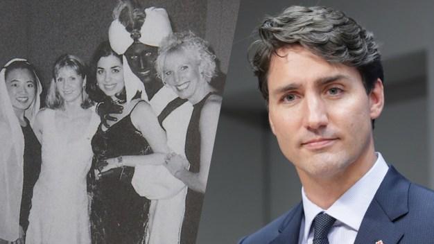 """Trudeau reconoce que posó maquillado en foto """"racista"""""""