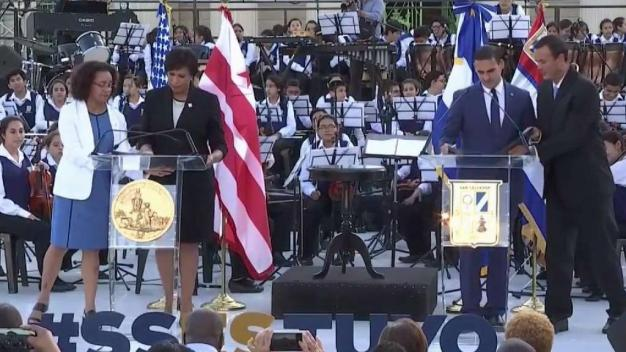 DC y San Salvador: oficialmente ciudades hermanas