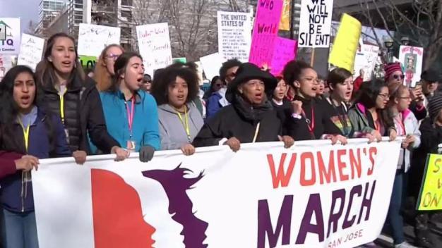 Miles asistirán a Marcha de Mujeres en la Bahía