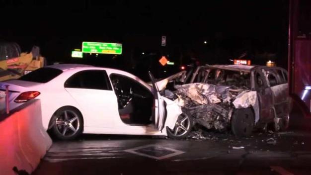 Un muerto y varios heridos en varios accidentes en la 101