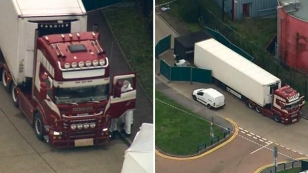 Macabro hallazgo en un camión de carga: 39 cadáveres