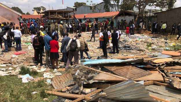 Tragedia escolar: derrumbe mata a siete niños en Kenia