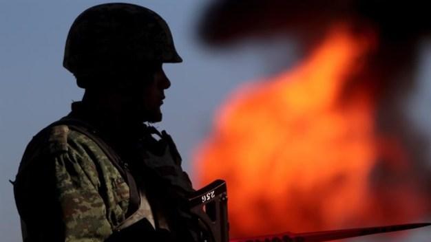 Por tomas ilegales en oleducto: un incendio y una fuga