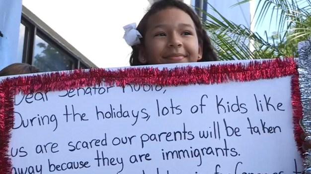 Hijos de dreamers piden aprobar un alivio migratorio