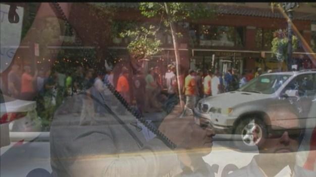 Empleados de la construcción protestan en San José