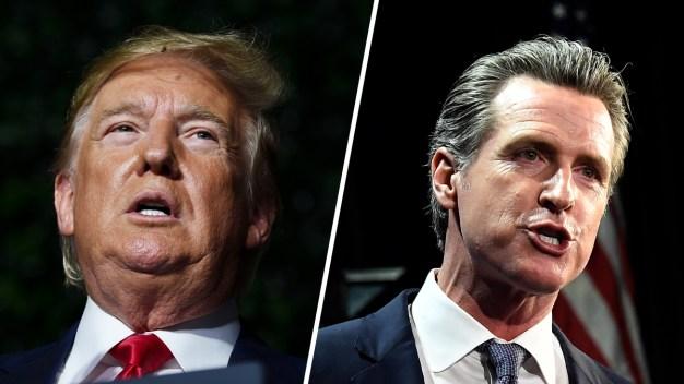 Trump demanda a CA por ley que exige impuestos de candidatos
