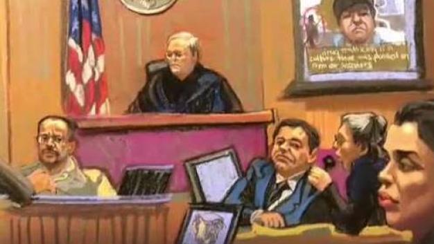 """Se escucha la voz de """"El Chapo"""" en el juicio"""