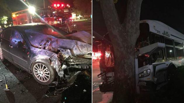 Accidente deja 5 heridos en Union City