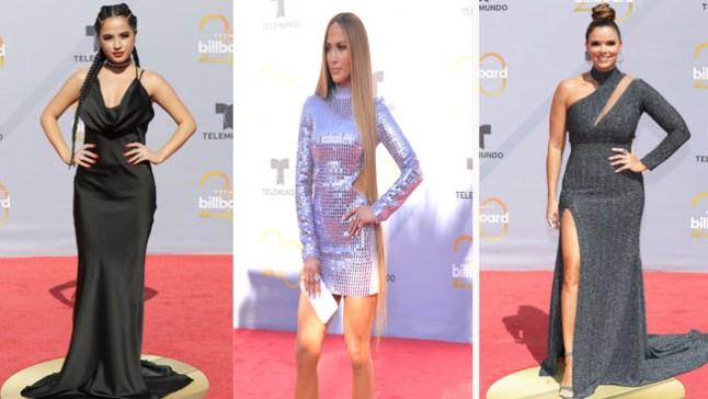 Los peores y mejores vestidos de los Premios Billboard