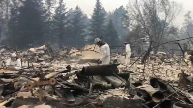 Alerta ante inundaciones en zonas afectadas por incendio