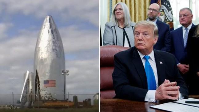 El ejército espacial no será como Trump lo quiere