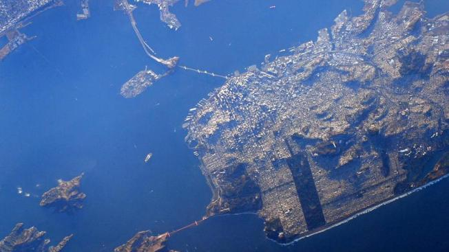 ¡San Francisco desde el espacio!