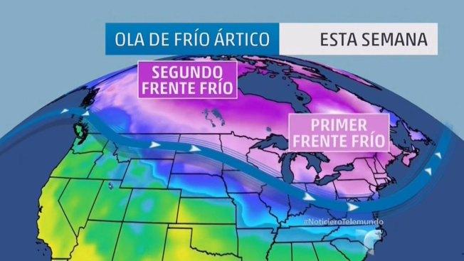 Frío extremo arropará a Estados Unidos