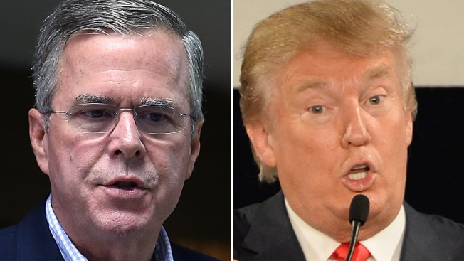 Trump critica a Bush por hablar español en EEUU