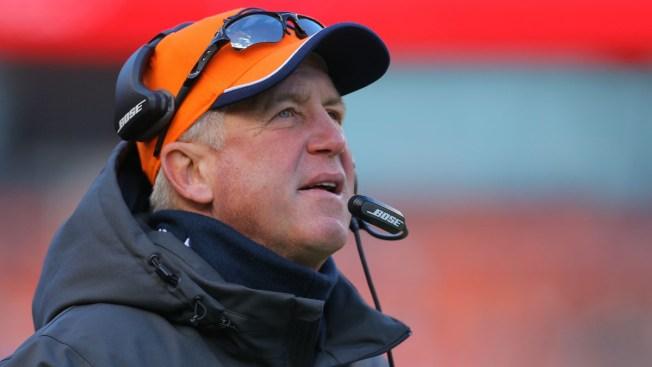 El entrenador John Fox deja los Broncos