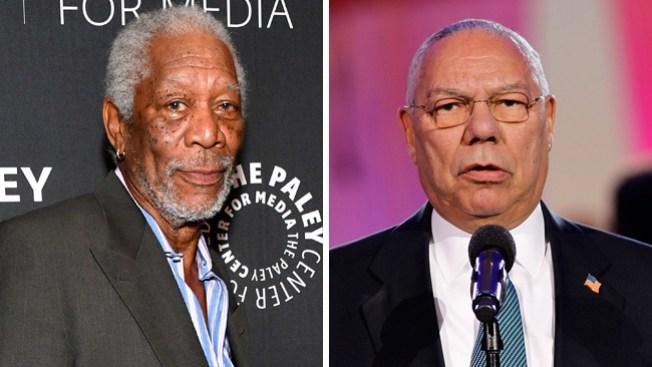 Morgan Freeman interpretará a Colin Powell
